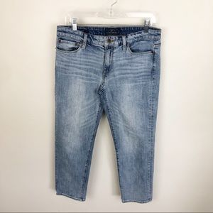 Lucky Brand Sweet Crop Jeans Mid Rise Light Wash